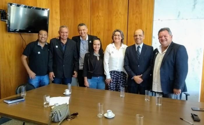 O Conselho de Desenvolvimento do DF reúne-se com Victor Paulo, Secretário de RelaçõesInstitucionais